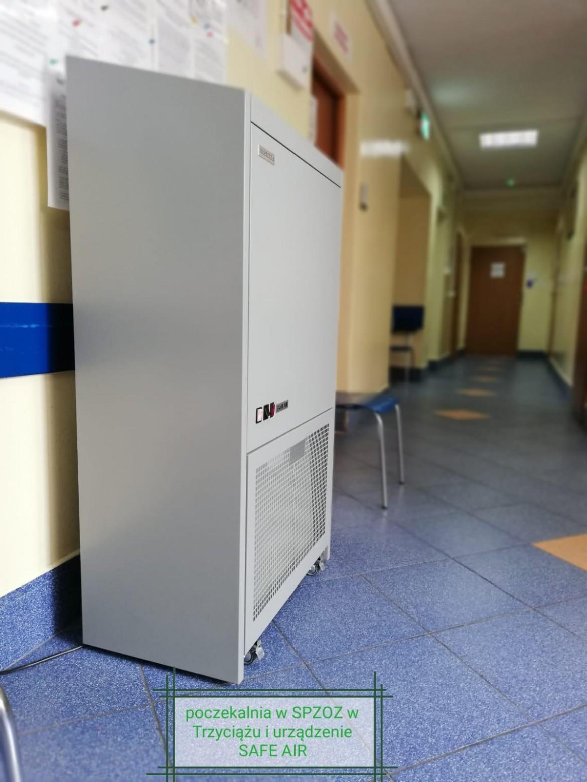 Nowe urządzenia w SPZOZ w Trzyciążu